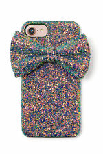 CC Glitter Bow iPhone Case iPhone 6, 6s, 7, 8 (Charming Charlies)