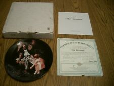 1997 Norman Rockwell Heritage Collection #21 Collector Plate The Dreamer Knowles