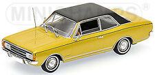 Opel Commodore a Limousine 1966-71 Gold Metallic 1:43 minichamps