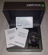 Certina DS Podium Big Size Chronograph C001.647.17.057.00 Black Rubber Quartz