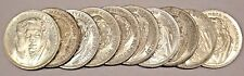 GERMANY LOT OF 10 EACH 5 MARK SILVER COIN 1967 F HUMBOLDT RARE BU UNC GREAT LOT