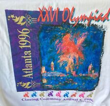 1996 Olympic Games - Limited Edition Atlanta Closing Ceremony T-Shirt (M) - NEW