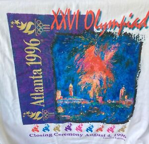 1996 Olympic Games - Limited Edition Closing Ceremony T-Shirt (M) - PRICE DROP
