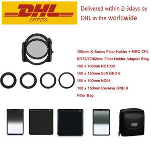 H&Y Square Filter Holder K-series+MRC CPL+ND1000+ND64+SOFT GND8+Reverse GND8 Set