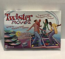 Twister Moves Classic Milton Bradley limited edition w/ Aaron & Nick Carter CD