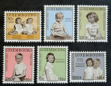 Timbre LUXEMBOURG Stamp - Yvert et Tellier 614 à 619 n** (Cyn19)