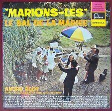 Pochette Parapluie 33 tours André Blot et son accordéon