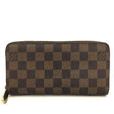 100% Authentic Louis Vuitton Damier Zippy Zip Around Long Wallet purse /5139D