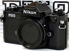 ** NEW IN BOX * NEVER USED ** Nikon FM2N 35mm Black Camera W/ TITAN SHUTTER