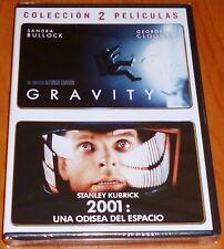 GRAVITY + 2001 UNA ODISEA DEL ESPACIO - Precintada