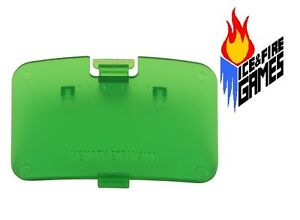 New JUNGLE GREEN N64 Memory Expansion Pak Cover - Jumper Pak Lid (Nintendo 64)