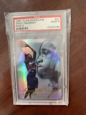 1997 Flair Showcase Row 3 #21 Tracy McGrady Rookie PSA MINT 9