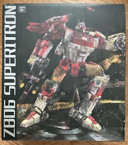 Zeta Toys ZB06 Superitron Transformers Masterpiece Superion Metallic Edition