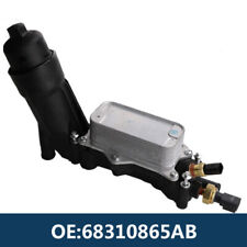 Oil Cooler Filter Adapter Housing 68310865AB For Jeep Chrysler Dodge 3.6 2014-17