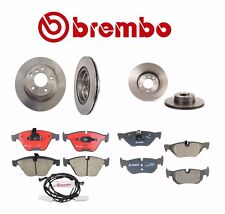 NEW BMW E90 2008 328i Sedan Set of Front and Rear Disc Brake Rotors with Pads