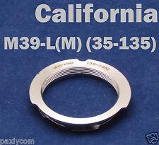 M39 LSM LTM 35-135mm Lens to Leica M Mount M9 M8 M7 M6 M5 M4 M3 MP 35mm-135mm
