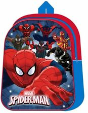 Marvel Spiderman Light Up LED Backpack Kids Boys School Nursery Travel Bag