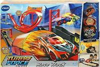 Vtech Turbo Force Racers Car Race Track, Kids Car Toy Play Set Inc. Turbo Force