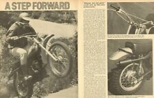 1972 Yamaha DT-2 MX 250cc Road Test - 5-Page Vintage Motorcycle Article