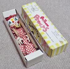 """Clown - Vintage 1960 Boxed """"Jumpettes"""" Pelham Puppets"""