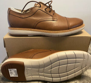 Clarks Draper Cap Toe Mens Shoe - 10.5 US - Tan Brown