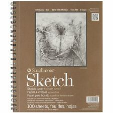 Sketchbooks Paper Pad Drawing Artist Art Student Craft 60lb 100 Sheets 9 x 12 in