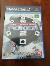 WORLD CHAMPIONSHIP POKER 2 PS2 complete with manual