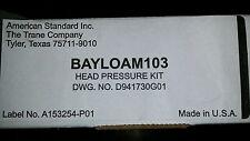 American Standard BAYLOAM103 Head Pressure Kit HVAC NIB