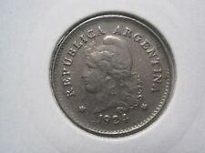 Argentinien 1924 10 Centavos  (128)