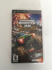 Monster Jam: Path of Destruction (Sony PSP, 2010) Complete