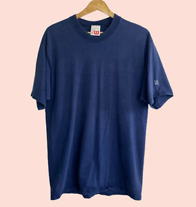 Vintage 90s Wilson Athleticwear Tennis men's Logo T-Shirt Classic USA Size L