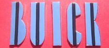 1954 Buick Hood Letters, Die Cast Chrome as Original