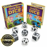 Story Time Dice | Jumbo Polyhedral Storytelling Aids
