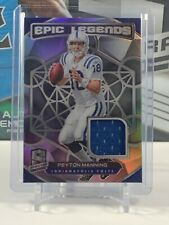 2020 Spectra Football Peyton Manning Epic Legends Materials Prizm #/99