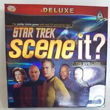 Star Trek Scene It? Deluxe Edition DVD Game by Mattel Excellent Condition 2009