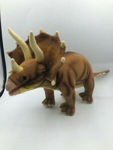Official Hansa Portraits Of Nature Dinosaur Triceratops Plush Stuffed Toy Animal
