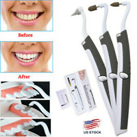 Oral Clean Sonic Dental Scaler Teeth Whitening Tartar Plaque Stains Remover USA