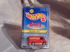Vintage>Rare Hot Wheels 1995 Bob's Toy Show Delivery Van 1 of 8,000