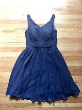 Azazie Bridesmaid Dress Navy Blue
