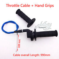 Twist Throttle Hand Grips Cable For Thumpstar SSR YCF 50 110 125cc Pit Dirt Bike