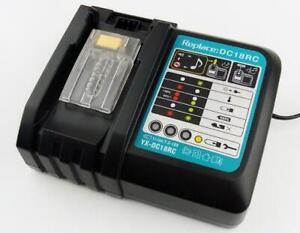 Outil Chargeur de Batterie Li-ion 18V pour Makita BL1830 Makita DC18RC
