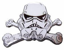 Star Wars Storm Trooper Helmet Crossed Bones Enamel Metal Pin