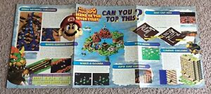 Vintage Authentic Nintendo Power Poster Mario RPG