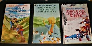Elinor M Brent-Dyer THE CHALET SCHOOL x 3 Armada pbs #43,45,46 Coming of Age &c