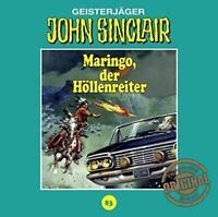 DER HÖLLENREITER MARINGO - JOHN SINCLAIR TONSTUDIO BRAUN-FOLGE 83   CD NEU