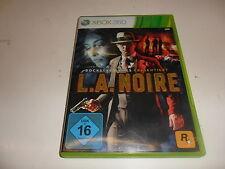 Xbox 360 L.A. noire
