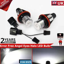 2 X BMW E39 E87 E60 E63 E65 E66 E53  E83 Error Free Angel Eye Halo LED Bulb ET