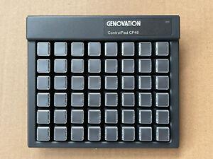 GENOVATION CP48-USBHID 48KEY USB CONTROLPAD BLACK