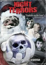 Night Terrors  DVD Camp Motion Pictures Jason Zink 2014 low-budget gore uncut