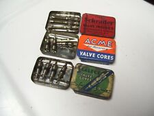 Original 1920 's- 1930s Vintage auto nos Tire valve stem cores Ford gm chevy